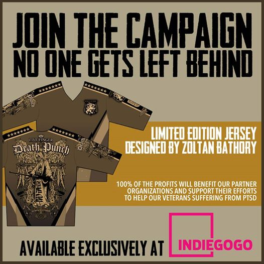 Five Finger Death Punch Campaign For Vets