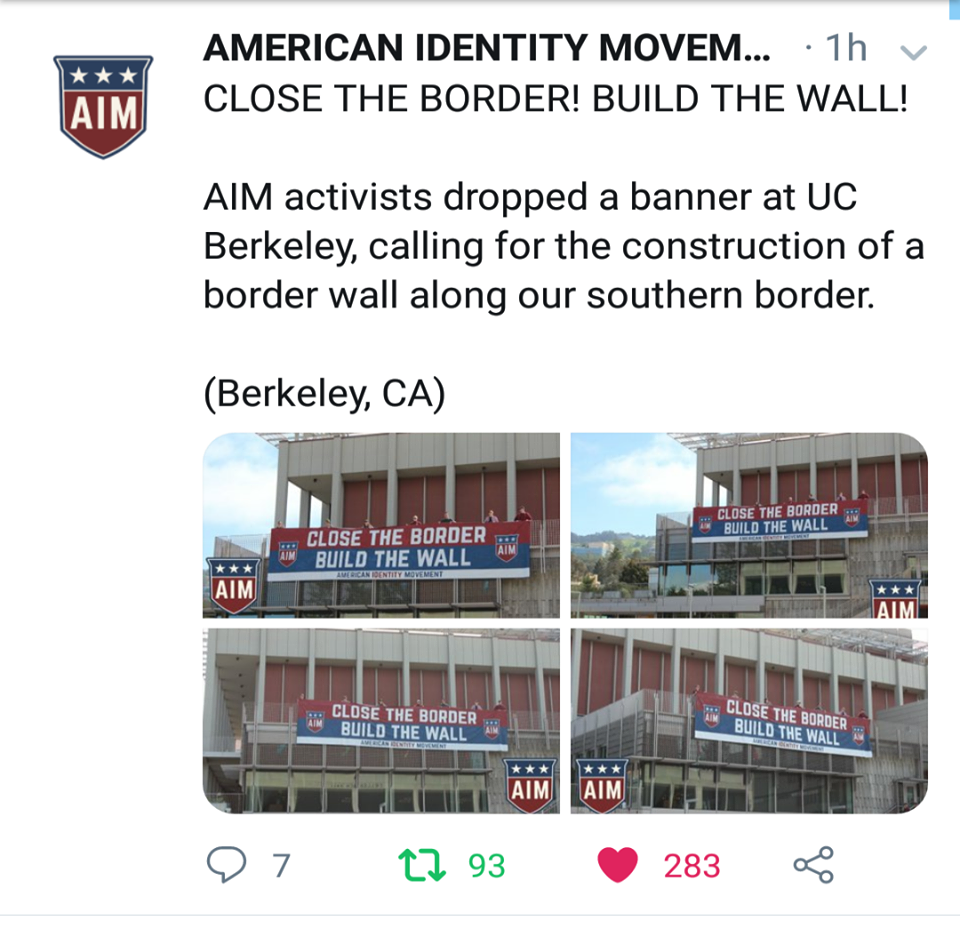 AIM Activism At U.C. Berkeley