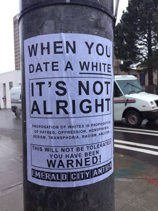 Antifa Is Now Threatening Interracial Couples Too