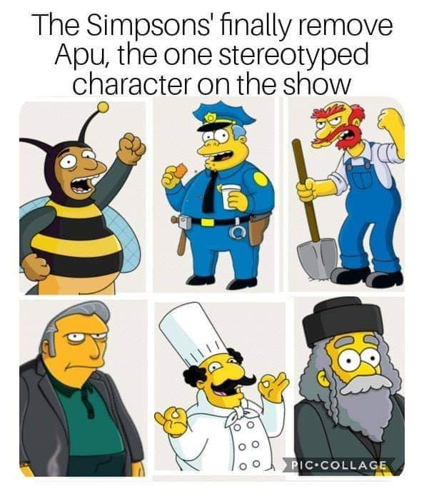Social Justice Warriors And The Apu Controversy