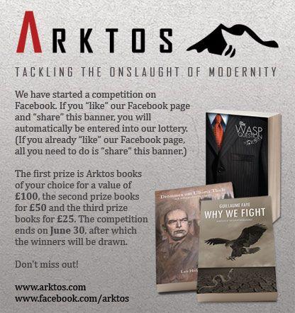 Arktos Books Raffle
