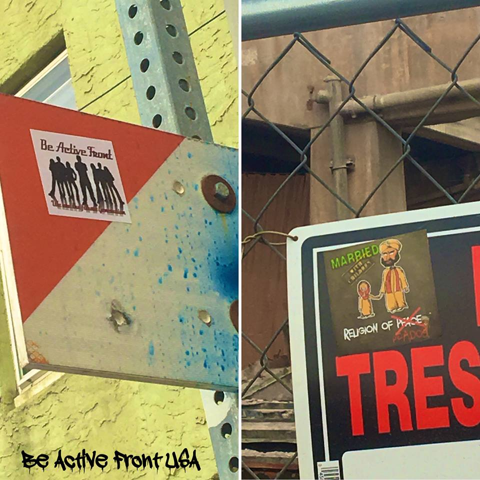 BAF Street Stickering