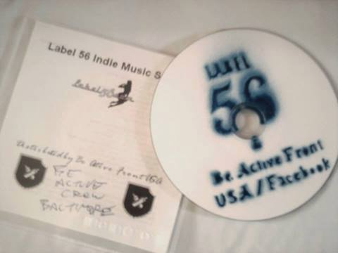 Label 56 Promo Stickers & Cd`s