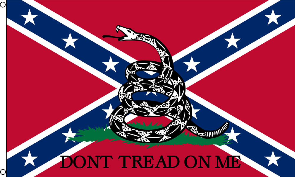 Confederate Gadsden Flag