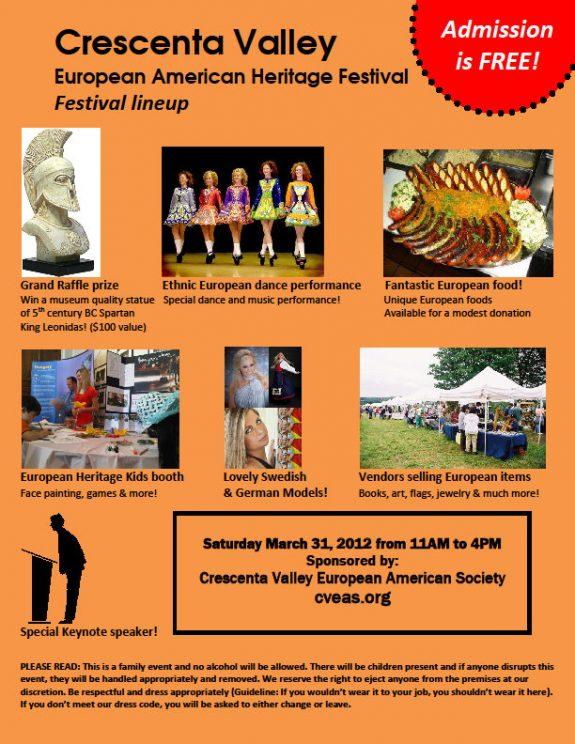 Crescenta Valley European American Heritage Festival