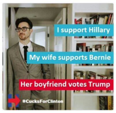 Cucks For Clinton