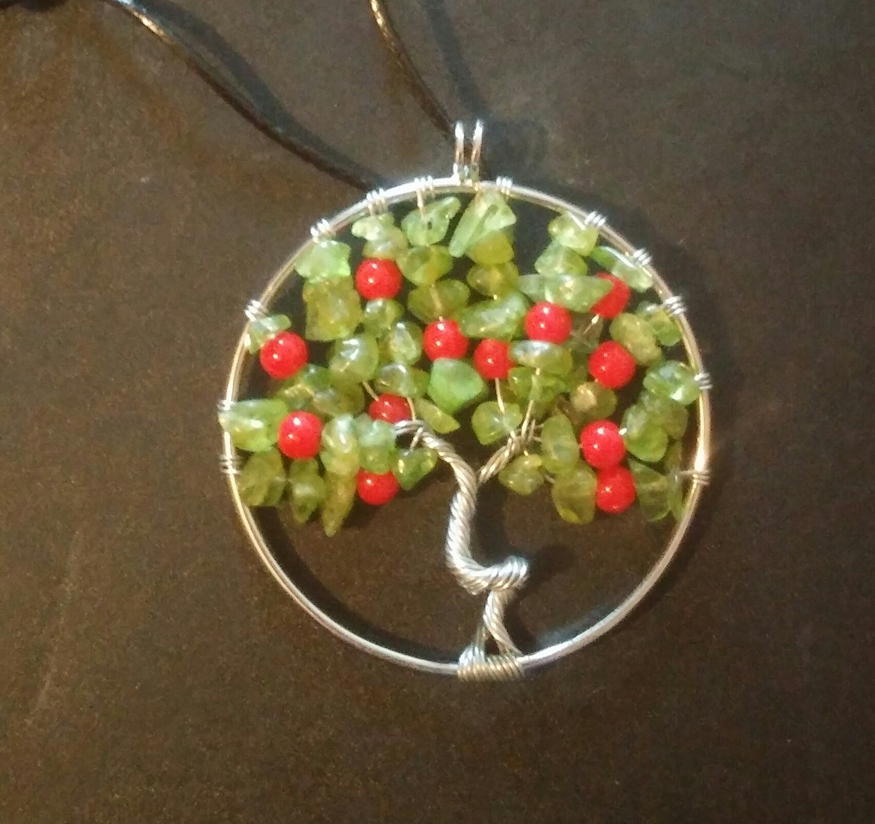 DIY Styled Tree Necklace