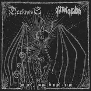 Darkness / Oltretomba- Horned, Winged And Grim
