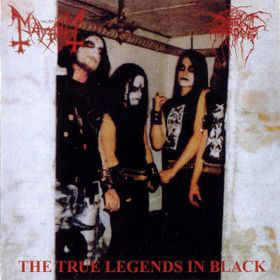 Darkthrone / Mayhem- The True Legends In Black