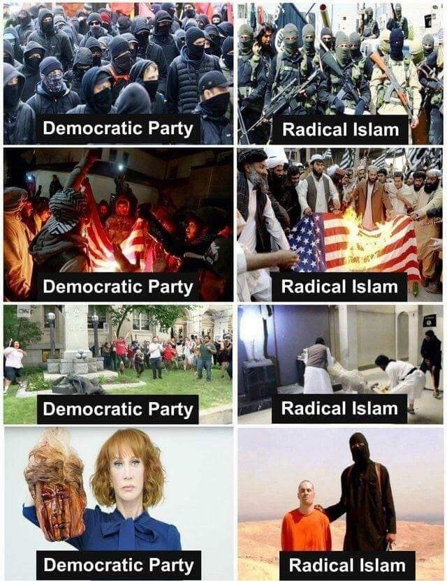 Democrats Are A Terrorist Organization