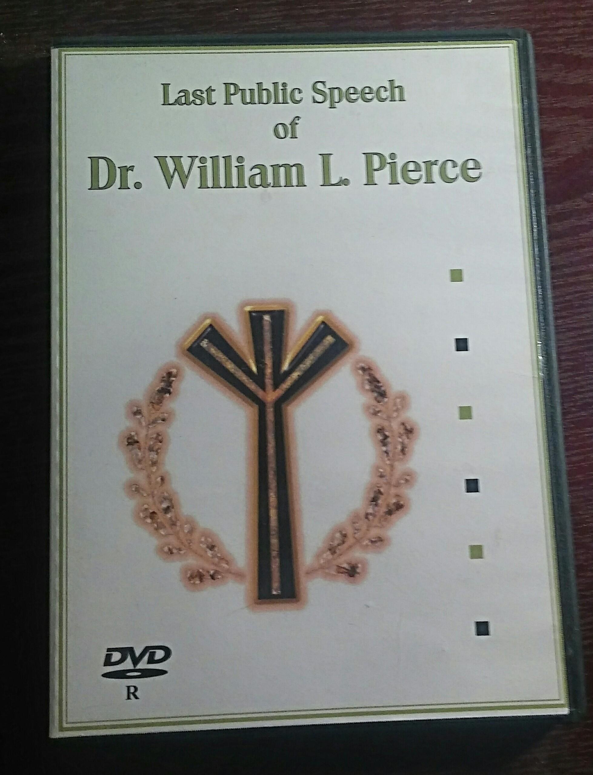 The Last Public Speech Of Dr. William Pierce