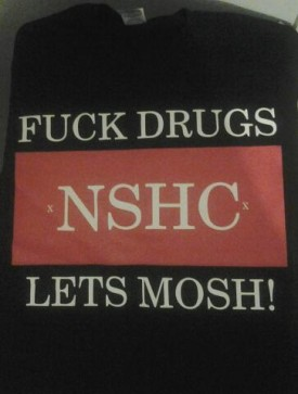 NS Hardcore Anti Drug Shirt