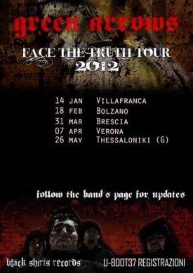 Green Arrows: Face The Truth Tour 2012