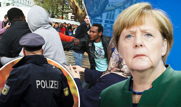 Merkel's Germany descends into lawlessness