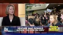 Violent Fascists Shut Down Heather Mac Donald College Appearance