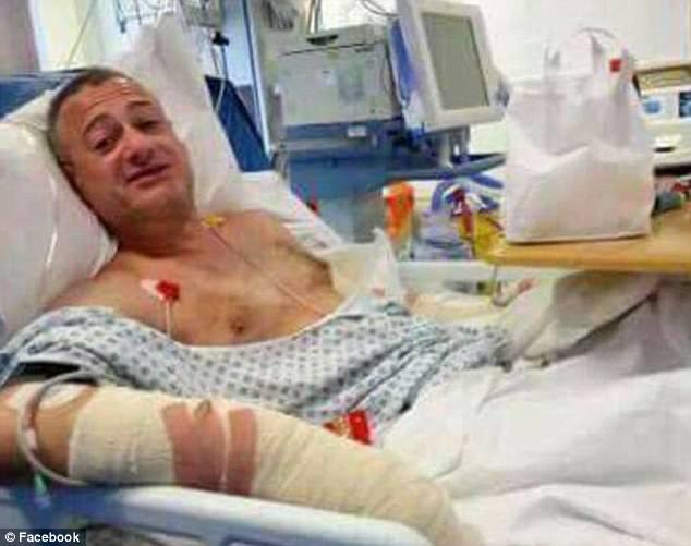 """Football Hooligan Battles London Terrorists. Shouts """"F*ck You, I`m Millwall!"""""""