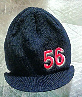 Label 56 Visor Beanie Hat