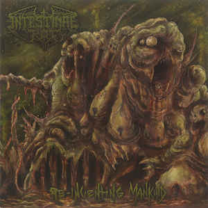 Intestinal Rot- Re-inventing Mankind 7″ Vinyl