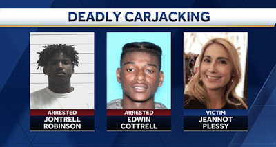 Black Teens Run Over & Kill Pastor`s Wife During Car Jacking. National Media Silent
