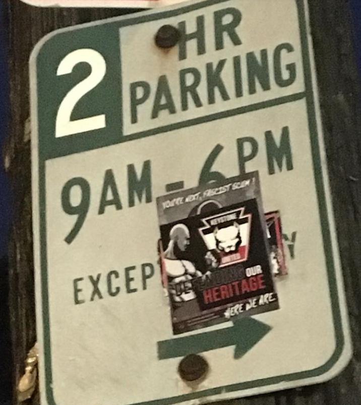 Keystone United Street Stickering