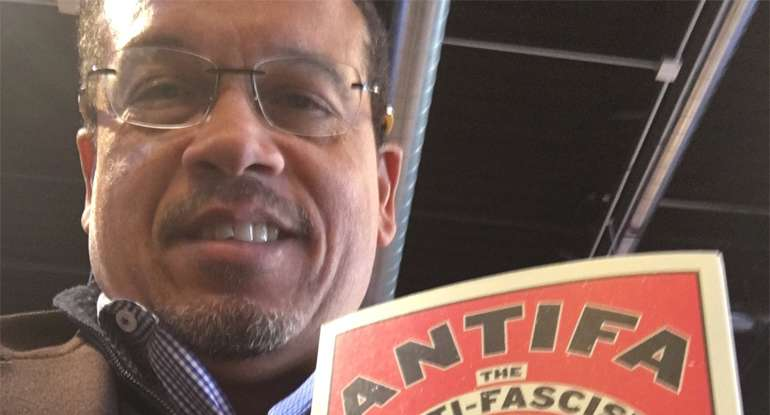 DNC Deputy Chair Promotes Violent Alt Left Group. Needs To Step Down From His Position