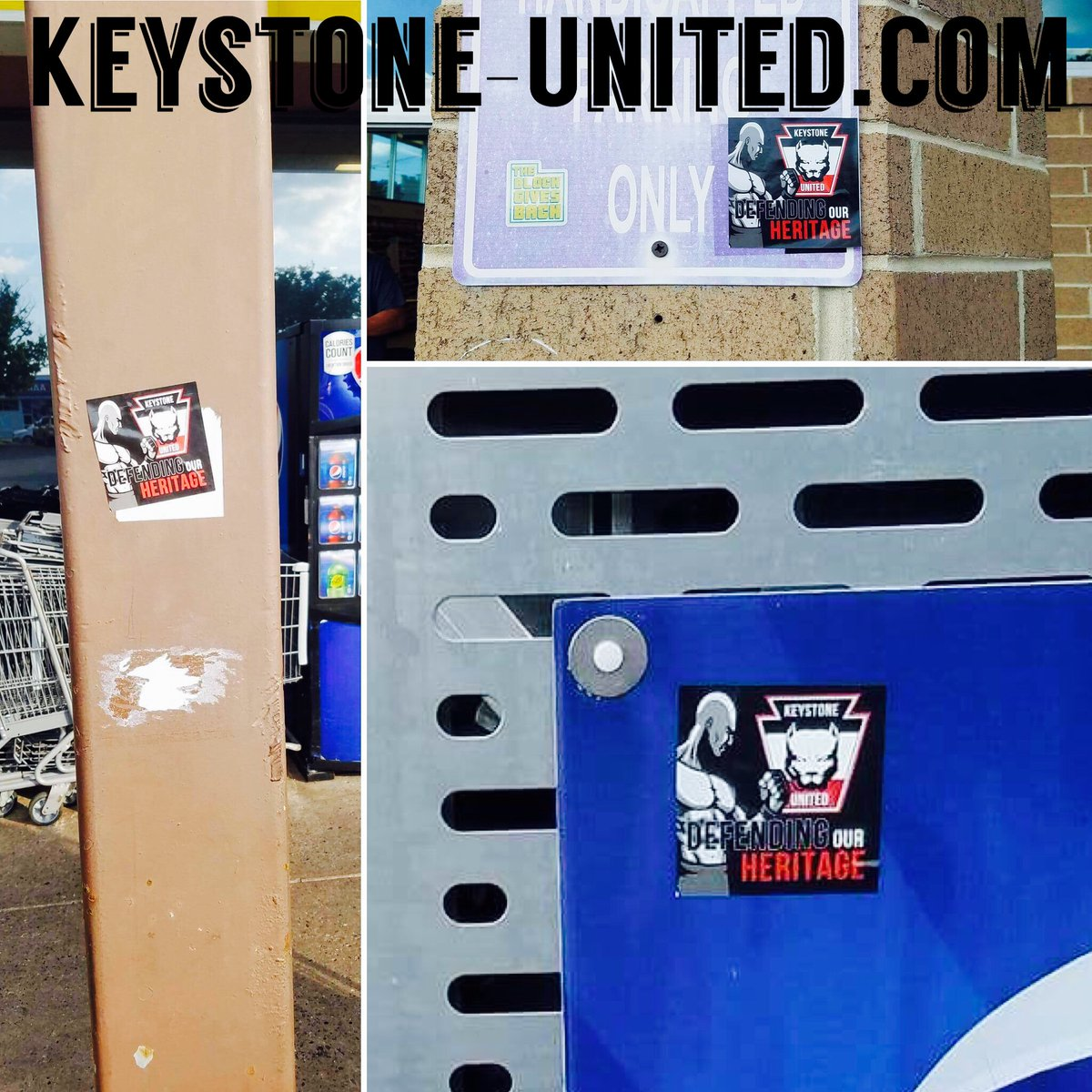 Keystone United Street Stickering