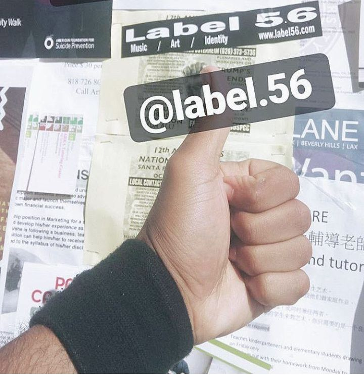 Label 56 Support