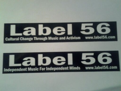 New Label 56 Stickers