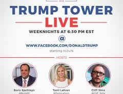 Trump launches nightly Facebook campaign news show