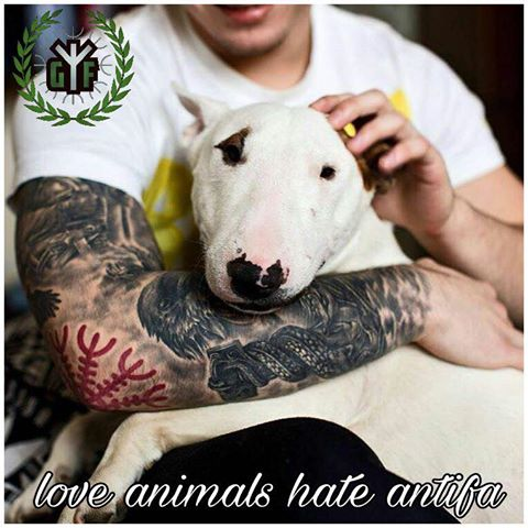 Love Animals Hate antifa