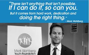 Mark Wahlberg: No Politics, Just Real Community Activism