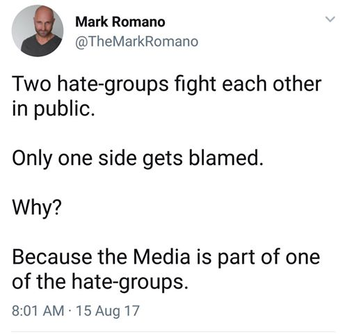 Mass Media Is Part Of Alt Left Hate Group