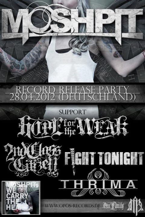 Moshpit Cd Release Party