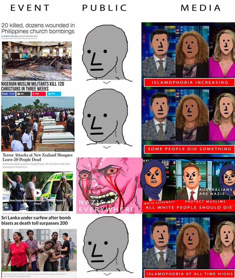The NPC Reaction To Terrorism