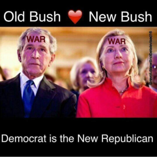 If liberals despised Bush-Cheney, why are they so excited for Hillary?