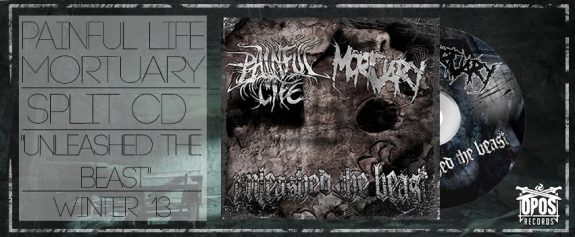 Painful Life / Mortuary – Unleash the Beast Split (Album Snippet)