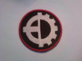 Celtic Cross/ Cog Wheel Patch