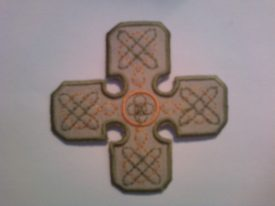Gaelic Cross Patch