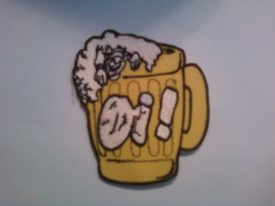 Oi! Beer Mug Patch