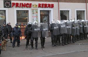 Over 250 Rioters Smash Kebab Shop After Man Is Stabbed