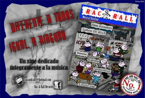 RAC & Rall Zine #1