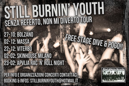 Still Burnin Youth Tour