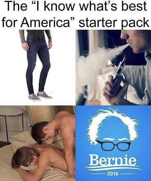 "The ""I Know What`s Best For America"" Starter Pack"