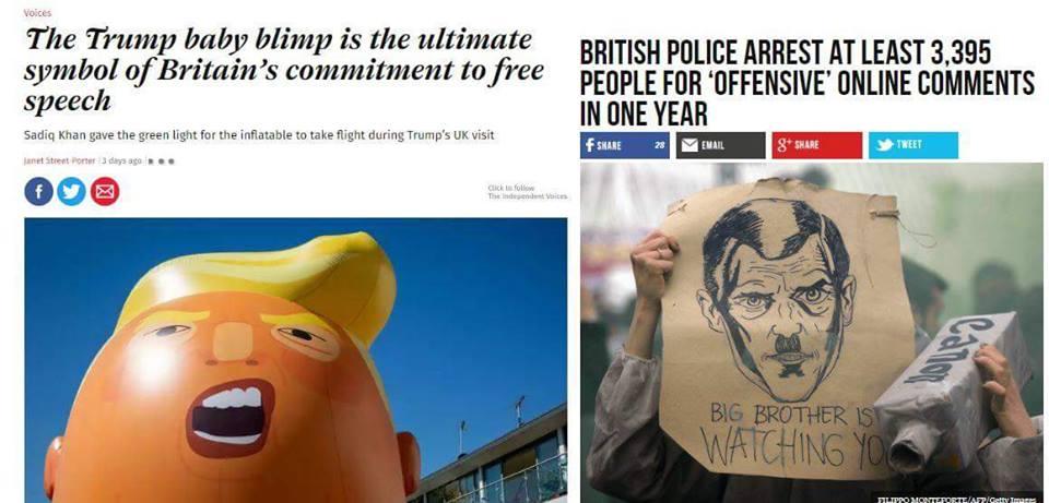 U.K. Doublespeak