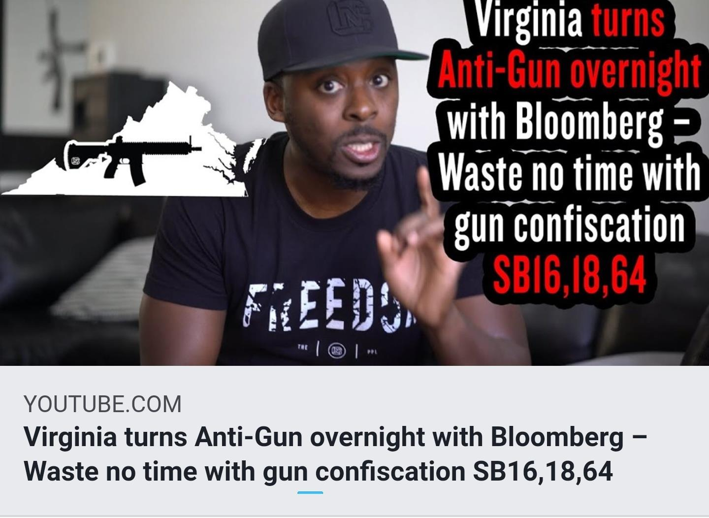 Newly Elected Virginia Democrats Enact Repressive Anti Constitutional Gun Laws