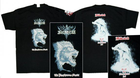 Wilkolak- The Blasphemous Scarlet T Shirt