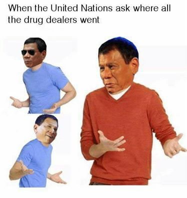 Merry Christmas from Filipino President Rodrigo Duterte