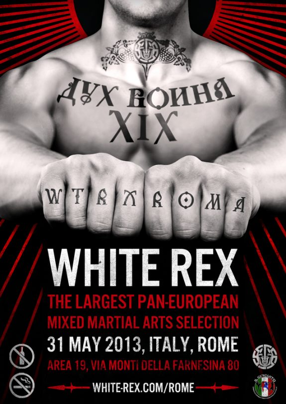 White Rex MMA Competition In Rome