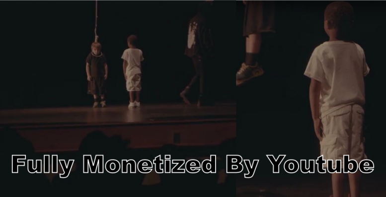 Racist Rap Video Shows White Child Being Hung / Murdered