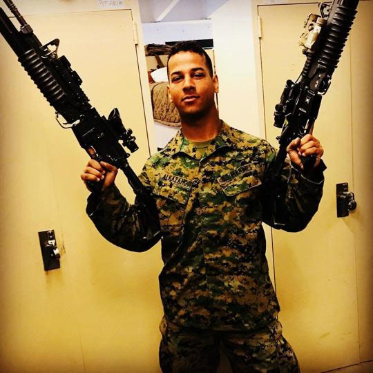 """Heavily Armed"" Ali Al-Kazahg Arrested Attempting To Enter Nebraska Marine Base"